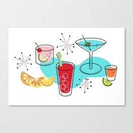 Cabo Cocktails Canvas Print