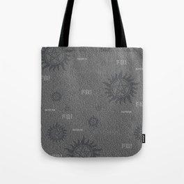 Dean and Sam Aliases Tote Bag