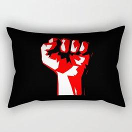 Power Fist Rectangular Pillow