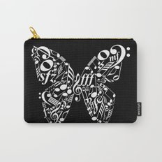Invert music butterfly Carry-All Pouch