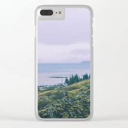 Country Cottage Clear iPhone Case