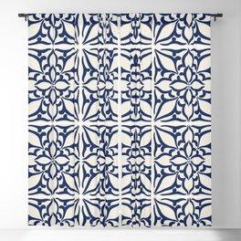 Portuguese tiles Blackout Curtain