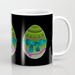 Egg green and blue Bow 03 Coffee Mug