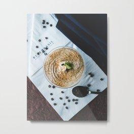 Coffee Frappe Metal Print