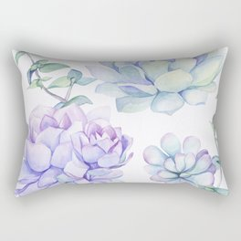 Wonderful Succulents 2 Rectangular Pillow