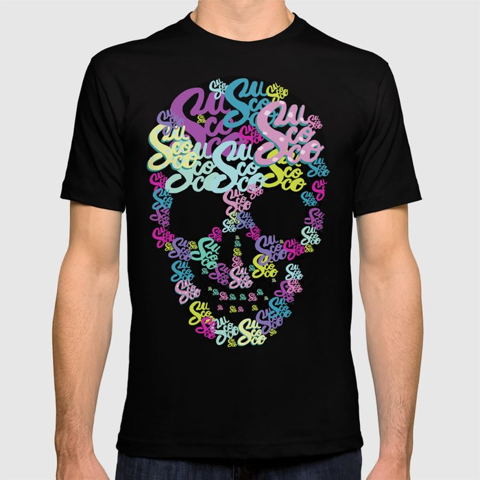 sucoco skull T-shirt