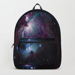 Orion Nebula 2 Ways Deep Purple & Blue Backpack