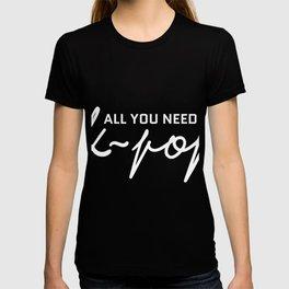 Kpop Pop Music Korean Charts Korea T-shirt