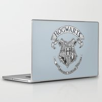 hogwarts Laptop & iPad Skins featuring Hogwarts by Cécile Pellerin