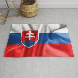 Slovakia Flag Rug