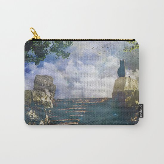Moon Stairs Carry-All Pouch