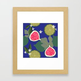 Fig & Lime Framed Art Print