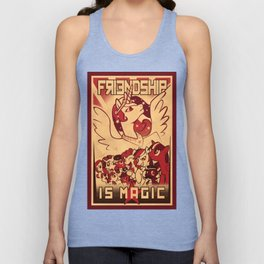 Friendship is Magic Unisex Tank Top