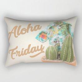 Aloha Friday Cactus Rectangular Pillow
