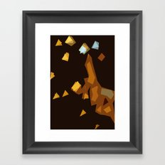 Trainwreck Framed Art Print