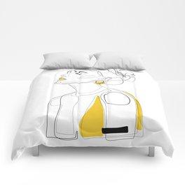 Yellow Lip Comforters