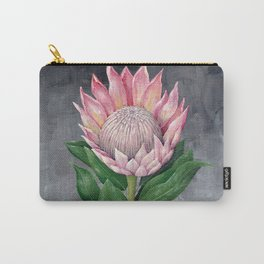 Protea Flower Painting Carry-All Pouch