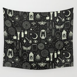 Light the Way: Glow Wall Tapestry