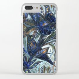 Birds in the Orchard Clear iPhone Case