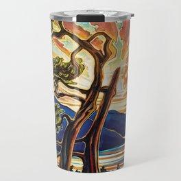 Inlet Sunset Travel Mug