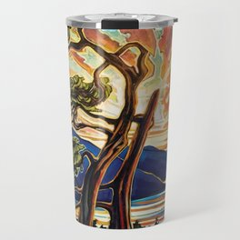 Inlet Sunset Travel Mug