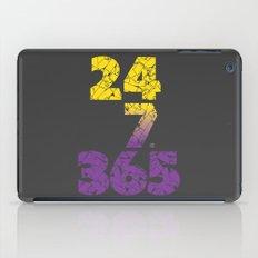 24-7/365 (Purple hustle) iPad Case