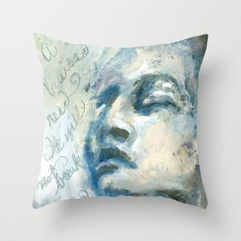 A Bruised Reed Throw Pillow