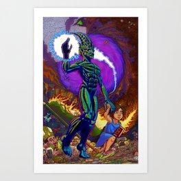 Follow Lucifer Art Print