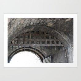 Edinburgh Castle Gate Art Print