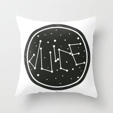 Juice Galaxy Throw Pillow