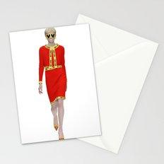 Runway Moschino Girl McDonalds Stationery Cards