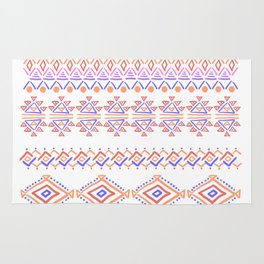 abstract geometric line patterns Rug