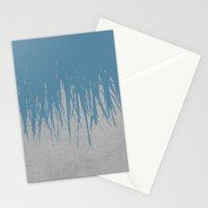 Concrete Fringe Blue Stationery Cards