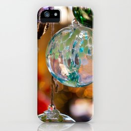 in that orb was a story of color and fire iPhone Case