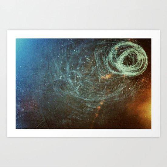 Untanglement - fresh air Art Print