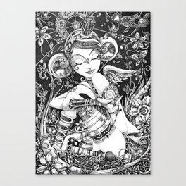 L'Ange Tombé Canvas Print