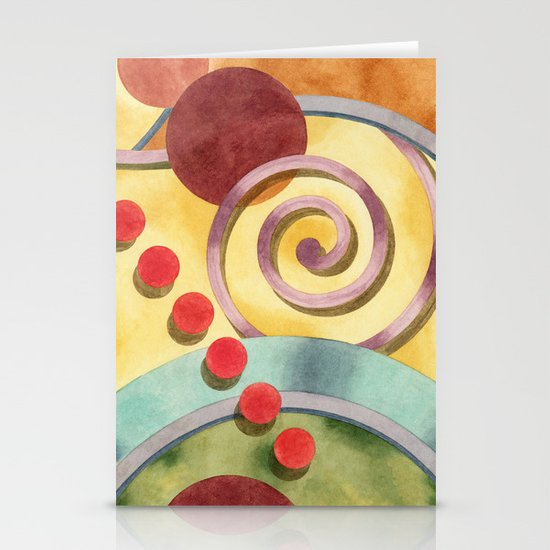 Europa Design Stationery Cards