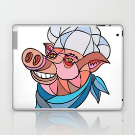 Pig Pork Baker Mosaic Color Laptop & iPad Skin