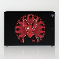 sphynx iPad Cases featuring Sphynx! by Visually Odd