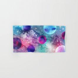 Vaporwave Pastel Space Mood Hand & Bath Towel