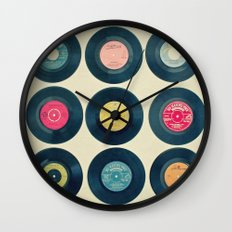 Vinyl Collection Wall Clock