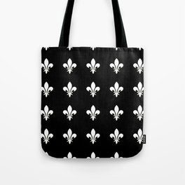 Fleur de lys 3-lis,lily,monarchy,king,queen,monarquia. Tote Bag