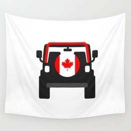 Jeep  'CANADA' rearview Wall Tapestry
