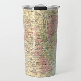 Vintage Map of Madras India (1909) Travel Mug