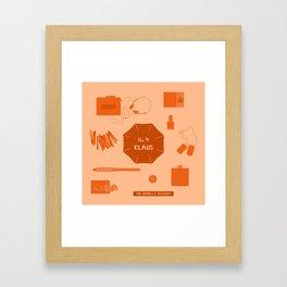 no.4 klaus Framed Art Print