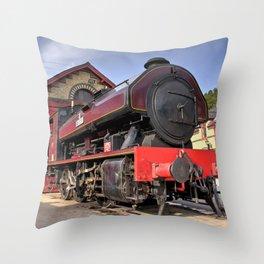Victor at Haverthwaite Throw Pillow