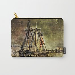 Tall ship USS Constitution Carry-All Pouch
