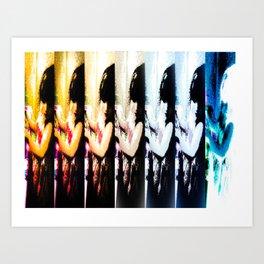 collage untitled Art Print