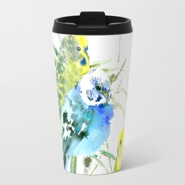 Parakeets Travel Mug