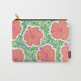 Paradise Blooms Carry-All Pouch